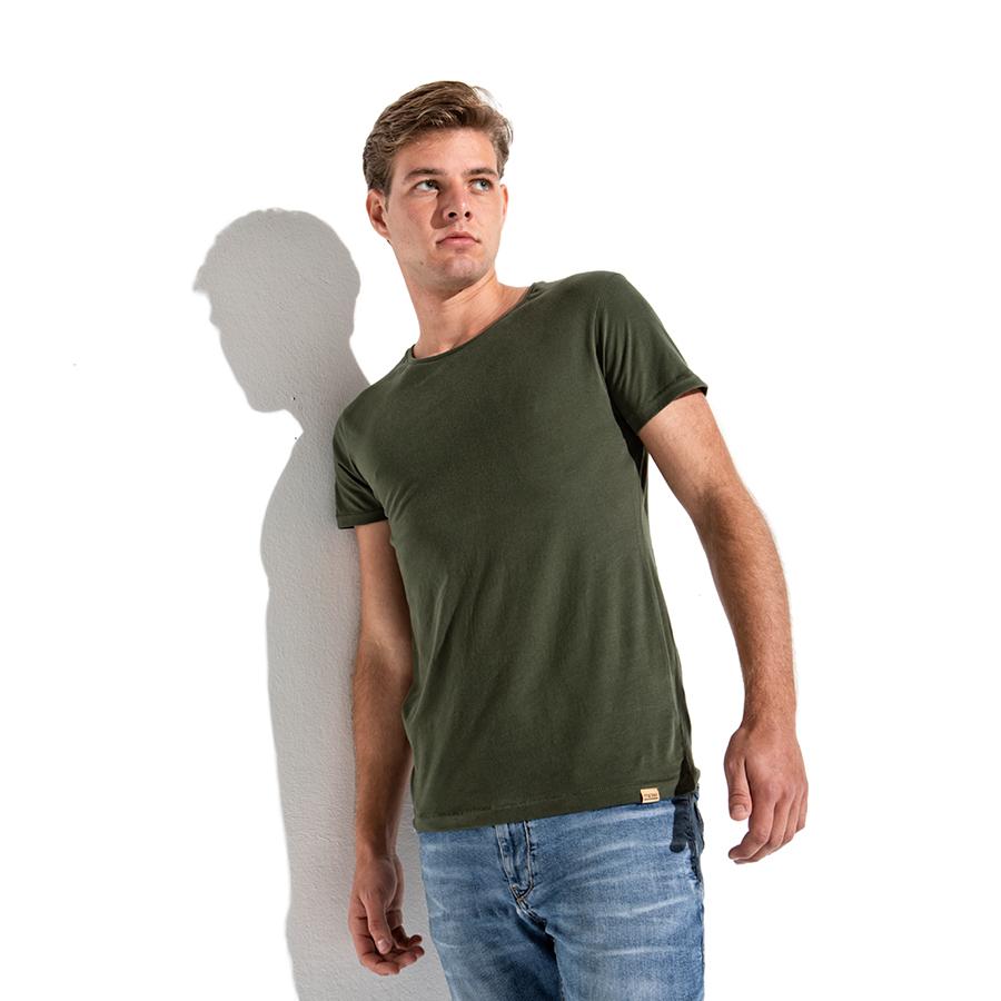 465b95573 T-shirt military green - LIGER
