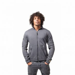 Zipper Jacket Acid Grey
