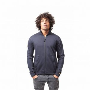 Zipper Jacket Dark Navy